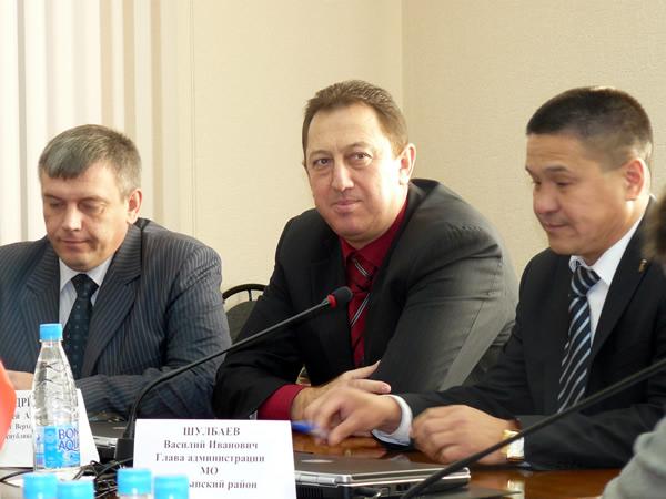 Виталий Здебский, Матвей Дреев и Василий Шулбаев