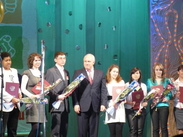 Виктор Зимин и награждённые