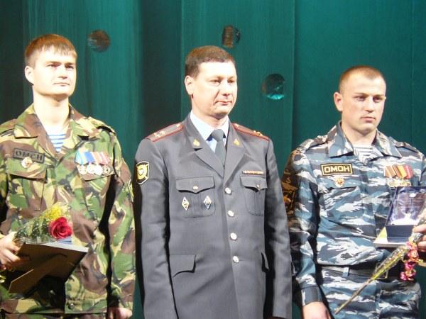 Дмитрий Лубенников, замминистра МВД РХ Олег Фатеев и Павел Ушаков