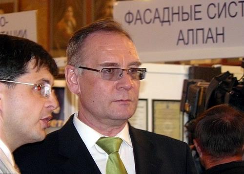 Мэр Абакана Николай Булакин