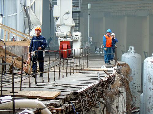 Авария на СШ ГЭС