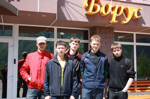 Сборная Красноярского края: «Нам в Хакасии очень нравится»