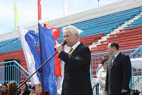 Министр спорта, туризма и молодёжной политики Валерий Денщиков