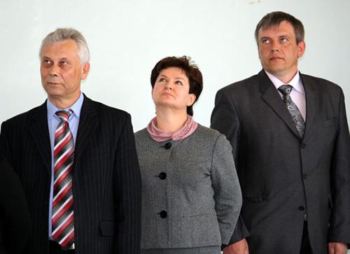 Валерий Денщиков, Татьяна Горячева и Виталий Здебский