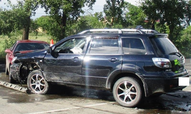 ВДнепропетровской области разбили 1-ый полицейский джип